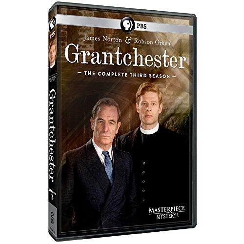 Masterpiece Mystery! Grantchester Season 3 DVD