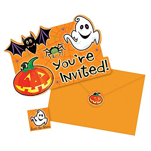 Scared Silly Halloween Invitations 20ct
