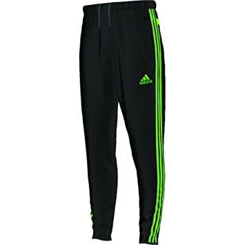 Adidas Tiro 13 Training Pants 2014/2015 (Black/Neon Green, 2XL)