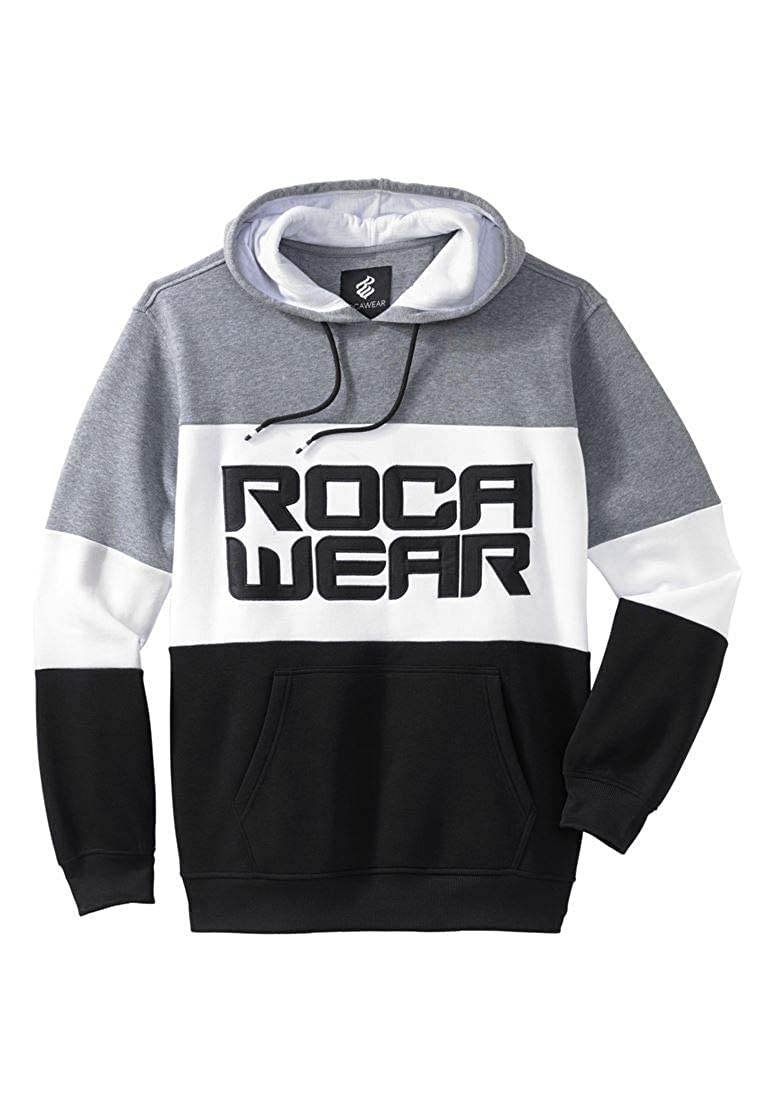Rocawear Men's Big & Tall Dynasty Pullover Hoodie