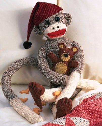 Brand New Peejay Sock Monkey Kit-21