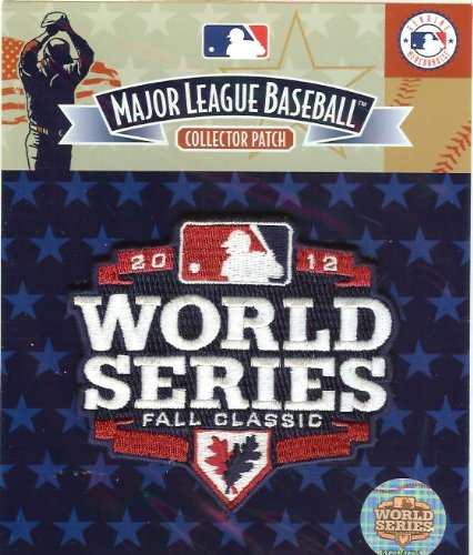 Official Mlb Baseball Patch (2012 San Francisco Giants World Series Logo Patch - 100% Official MLB)