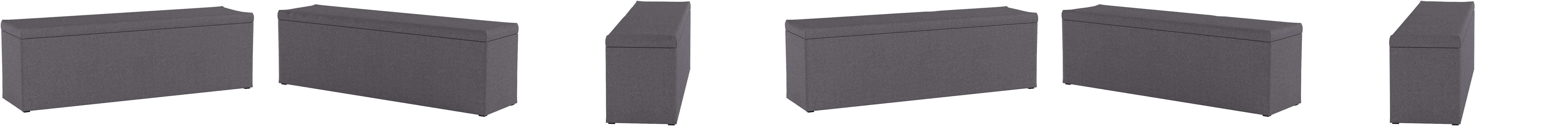 Furniture For Friends Muebles Alegría Nelli® Cama Box, Caja para Camas de Cama con somier y Acolchado Camas | baúl Asiento, en Varios tamaños y ...