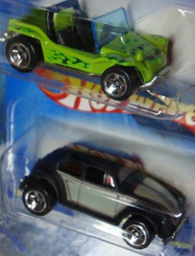 Meyers Dune Buggy Manx - Hot Wheels Meyers Manx Dune Buggy - Vw Beetle 5 Spoke Wheels 1:64 Scale