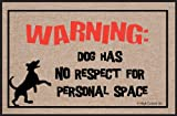 Funny Doormat High Cotton Dog Personal Space Doormat Deal