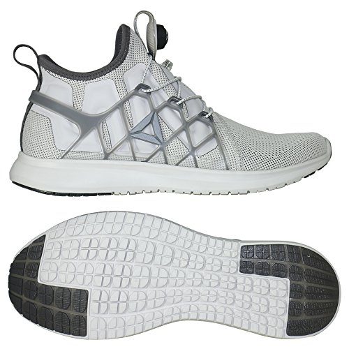 Reebok Pump Plus Cage, Zapatillas de Running para Hombre Blanco (White / Black)