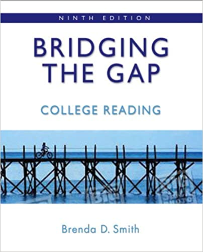 Bridging the gap college reading 9th edition brenda deutsch bridging the gap college reading 9th edition 9th edition fandeluxe Images