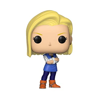 Funko POP! Animaiton: Dragon Ball Z - Android 18, Standard, Multicolor: Toys & Games