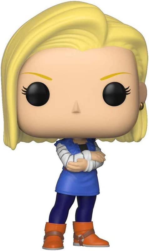LAST LEVEL- Pop Vinyl: Dragonball Z S5: Android 18 Figura Dragon Ball: C18, Multicolor (FFK36403)