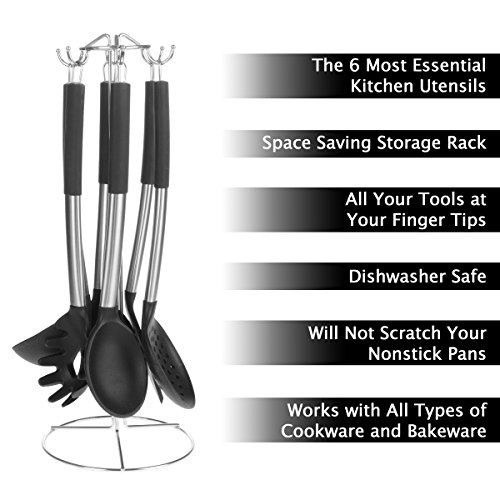 Classic Cuisine 82-KIT1034 Kitchen Utensil Set, Normal, Stainless Steel by Classic Cuisine (Image #2)