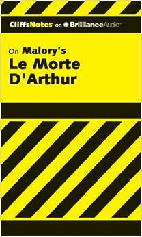 Book Le Morte D'Arthur (The Death of Arthur) (Cliffs Notes Series)
