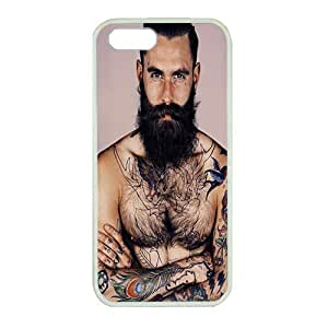 Perfect fitting cover protects your iPhone 5, White case protect your iPhone 5 with Ricki Hall