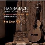 Hannabach 890 MT 7/8 Children Guitar Set (G3 plain) Scale 62-64cm