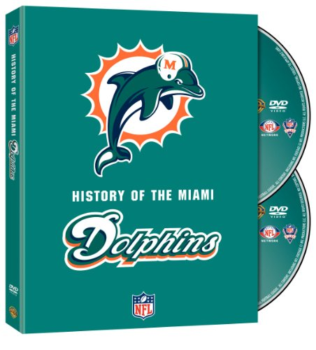 NFL History of the Miami Dolphins (Football Dvd Highlights)