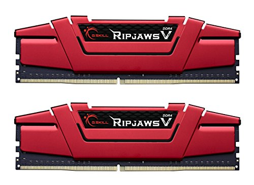 G.SKILL 32GB (2 x 16GB) Ripjaws V Series DDR4 PC4-19200 2400MHz Intel Z170 Desktop Memory Model F4-2400C15D-32GVR (Ecc Sdram Registered)