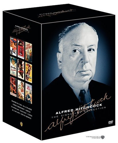 The Alfred Hitchcock Signature Collection (Strangers on a Train Two-Disc Edition / North by Northwest / Dial M for Murder / Foreign Correspondent / Suspicion / The Wrong Man / Stage Fright / I Confess / Mr. and Mrs. Smith) by Warner Manufacturing