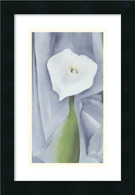 Beautiful White Calla Lilies Art Print Home Decor Wall Art Poster D