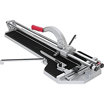 Brutus 10800 27-Inch  Rip and 20-Inch  Diagonal Professional Porcelain Tile Cutter with 7/8-Inch  Cutting Wheel