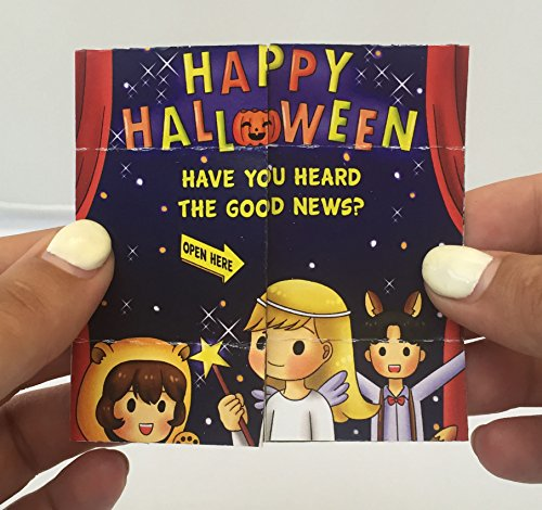Halloween Christian Gospel Tracts for Kids 24 Per Pack -