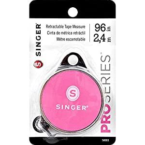 SINGER 50003 ProSeries Retractable Tape Measure, 96-Inch