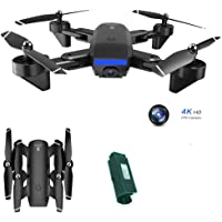 Gps Drone Met Camera for Adults 4K, 5G Wifi Live Video RC Quadcopter, Drone Long Flight Time, Drone 18 Minuten, Drone Opvouwbaar, Met Draagtas,1 battery