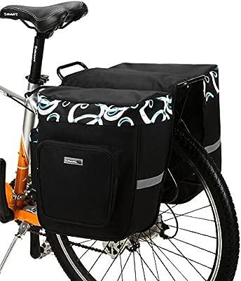 BikyBag Impermeable Alforjas de Bicicleta a Prueba de Agua