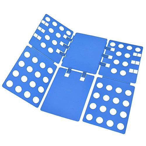 OJV Shirt Folding Board t Shirts Clothes Folder Durable Plastic Laundry folders (Shirt Folder-V1)