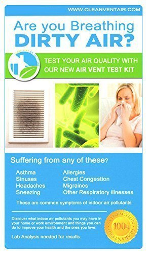 - Clean Vent Air Solutions Air Vent Test Kit