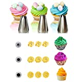 MOMA 3Pcs/set Rose Tips Cupcake Decorating Stainless Steel Icing Piping Pastry Nozzle Cake Decorating Tool cake toper tools NEW BRAND