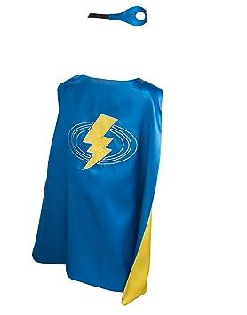 DREAMY DRESS-UPS 51003 Super Hero Lightning Capa con máscara (3 – 7 años