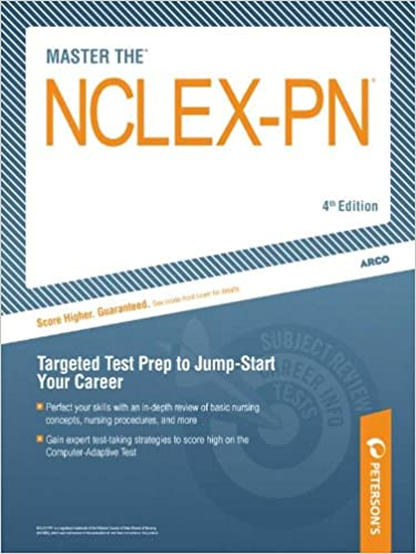 Amazon Master The NCLEX Petersons PN W CD