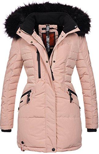 jacket Navahoo coat ladies parka jacket Pink warm winter lined winter b379 SS8pxwqHC