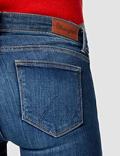 85u Donna Bluauthentic Blue SlimJeans Wrangler CBoreEdQxW