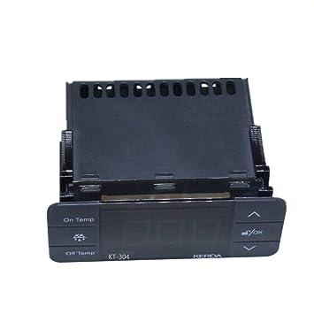 KT-304 Controlador de Temperatura Termostato Sensor de Temperatura ...