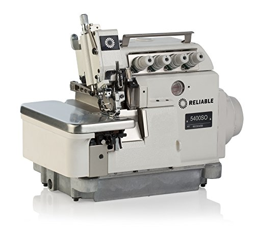 Reliable 5400SO 3/4 Thread Serger with Direct Drive Motor and Semi-Submerged Table