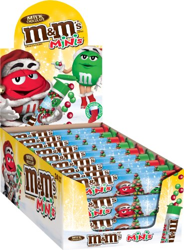 M&M'S Chocolate Holiday Candy Containers