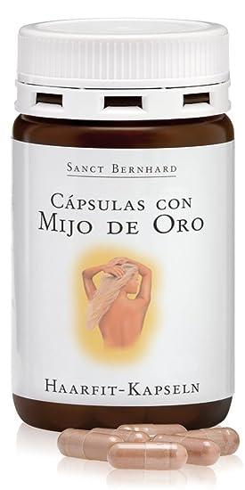 Cápsulas de Mijo de Oro para el Cabello con vitaminas - 120 Cápsulas: Amazon.es: Salud y cuidado personal