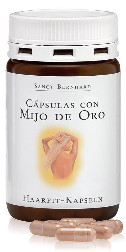 Cápsulas de Mijo de Oro para el Cabello con vitaminas - 120 Cápsulas