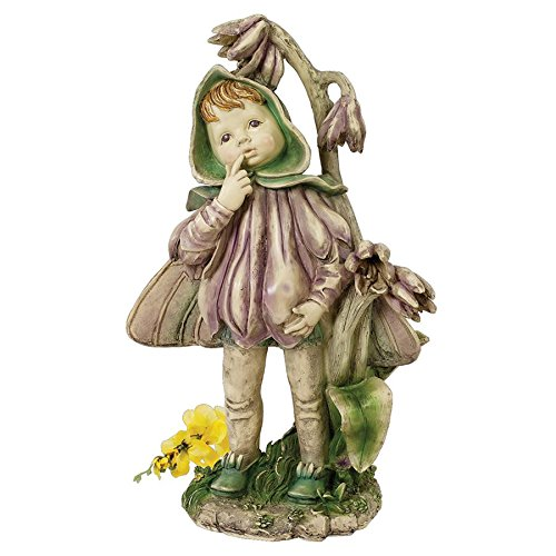 Design Toscano Ella the Littlest Flower Fairy Statue