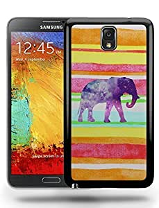 Aztec Tribal Space Elephant Hipster Pattern Phone Case Cover Designs for Samsung Galaxy Note 3 Kimberly Kurzendoerfer