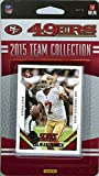 San Francisco 49ers 2015 Score NFL Football Factory Sealed EXCLUSIVE Limited Edition 17 Card Complete Team Set with Colin Kaepernick,Jerome Simpson,Mike Davis RC & Many More! Shipped in Bubble Mailer