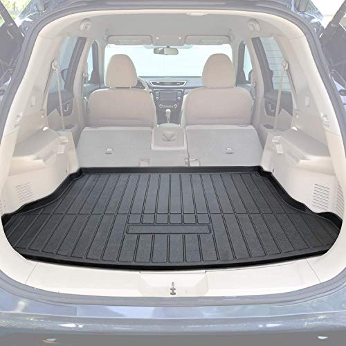 (Danti Cargo Liner Rear Cargo Tray Trunk Floor Mat Protector for 2014-2018 Nissan Rogue SV S SL )