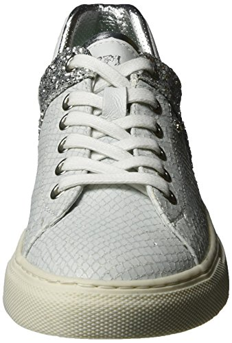 Baskets Replay Argenté Lolard argent 81 Femme Silver Blanc white Bx5xX