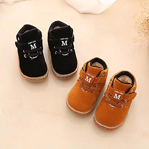... Casual HUHU833 Kinder Mode Jungen Stiefel Martin Sneaker Stiefel,  Kinder Baby Warm Halten Freizeitschuhe, Casual aab37abbc2
