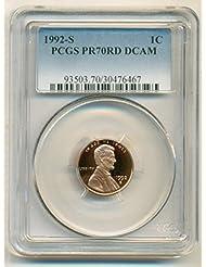 1992 S Lincoln Memorial Proof Cent PR70 DCAM PCGS