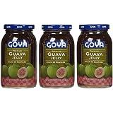 Goya Goya Guava Jelly, Glass Jars, 17 oz, 3 pk