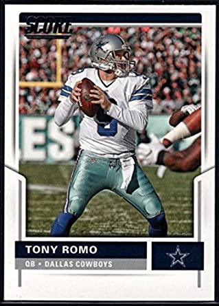 Amazon.com  Football NFL 2017 Score  272 Tony Romo Cowboys ... 46343cd98