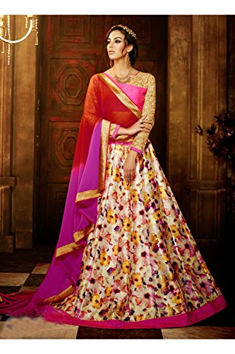 Da Facioun Indian Women Designer Wedding Multi Lehenga Choli R-16366