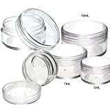 (1000 Pcs) 10mL Screw Top Concentrate Container Plastic | Color: Clear Concentrate Containers