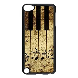 Stylish Piano Design Plastic Shell Protector for Ipod Touch 5 5th Generation